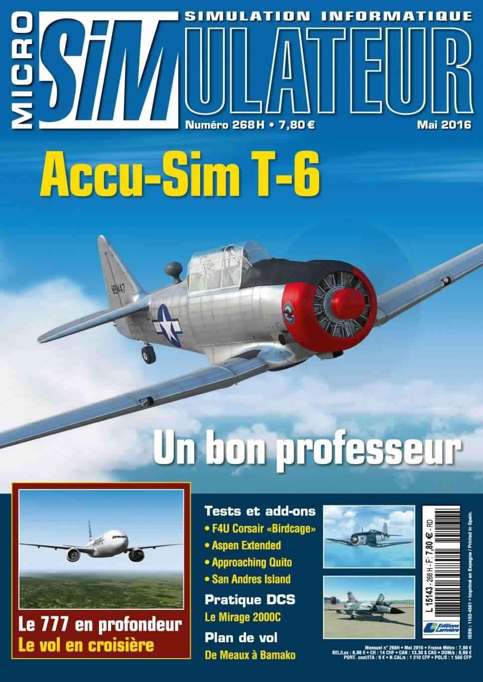 Micro Simulateur 268 - Mai 2016
