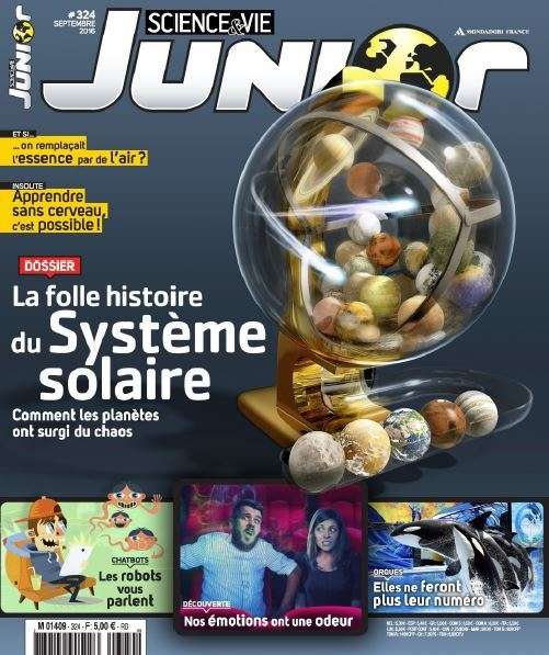 Science & Vie Junior - Septembre 2016