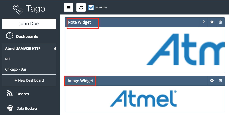 The image widget