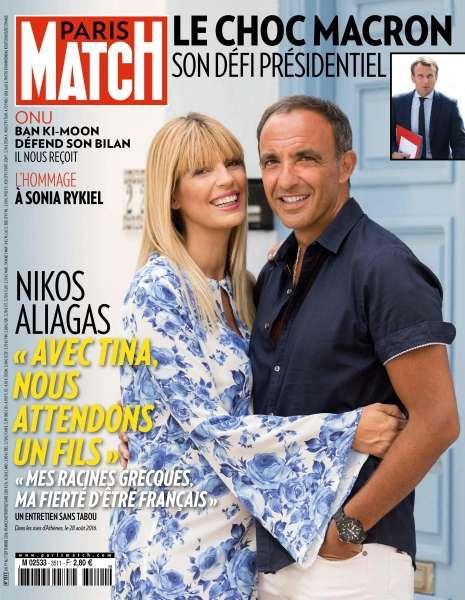 Paris Match + Supplement 3511 - 1er au 7 Septembre 2016
