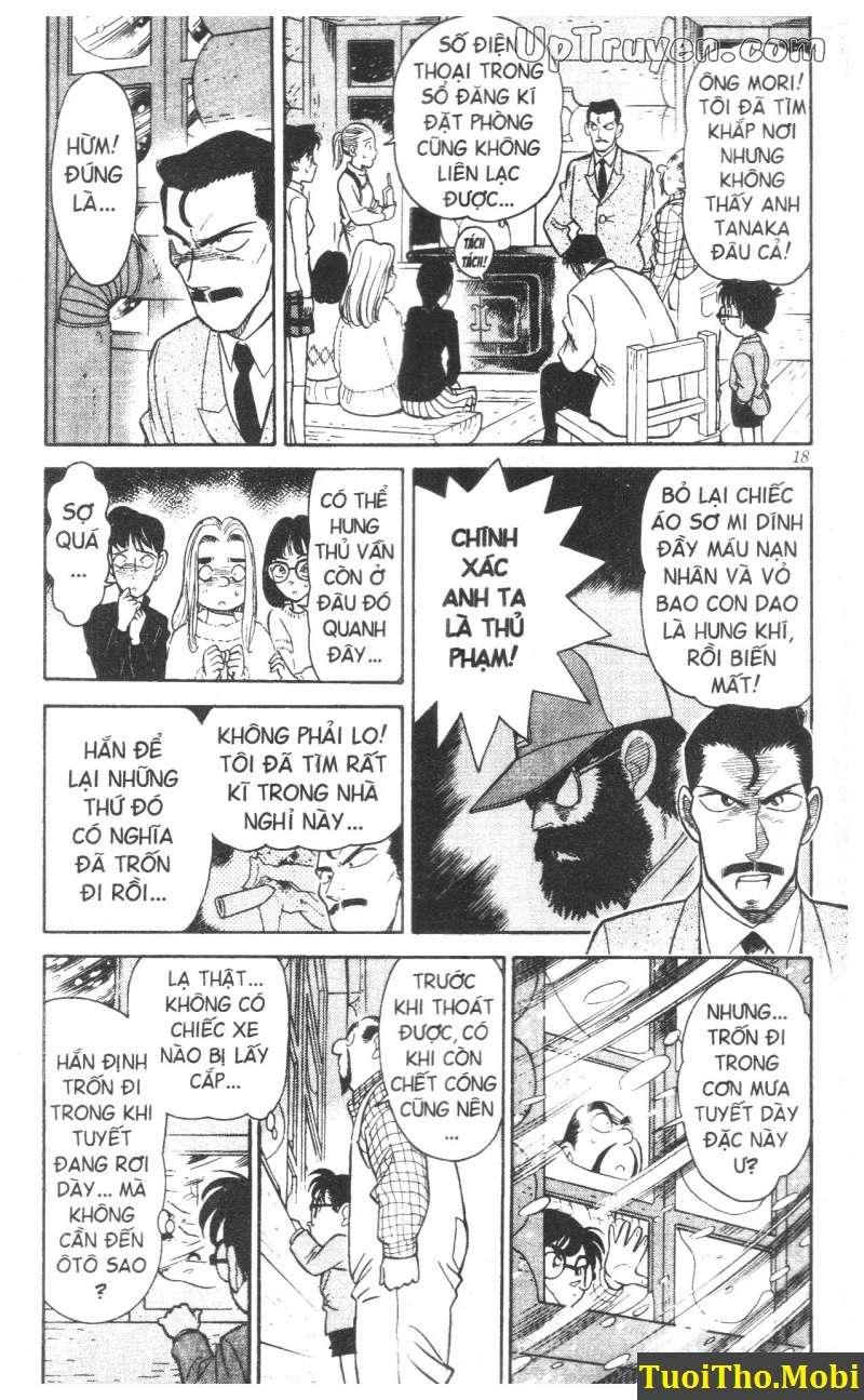 đọc truyện Conan bộ đặc biệt chap 1 trang 13