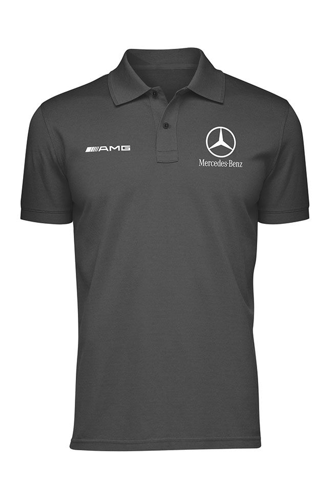 polo shirt mercedes cotton available in black navy blue white red grey 11street malaysia. Black Bedroom Furniture Sets. Home Design Ideas