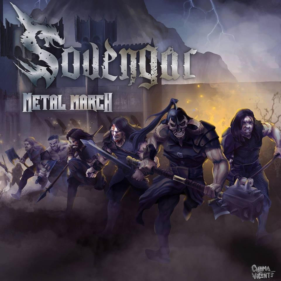 Sovengar - portada Metal March