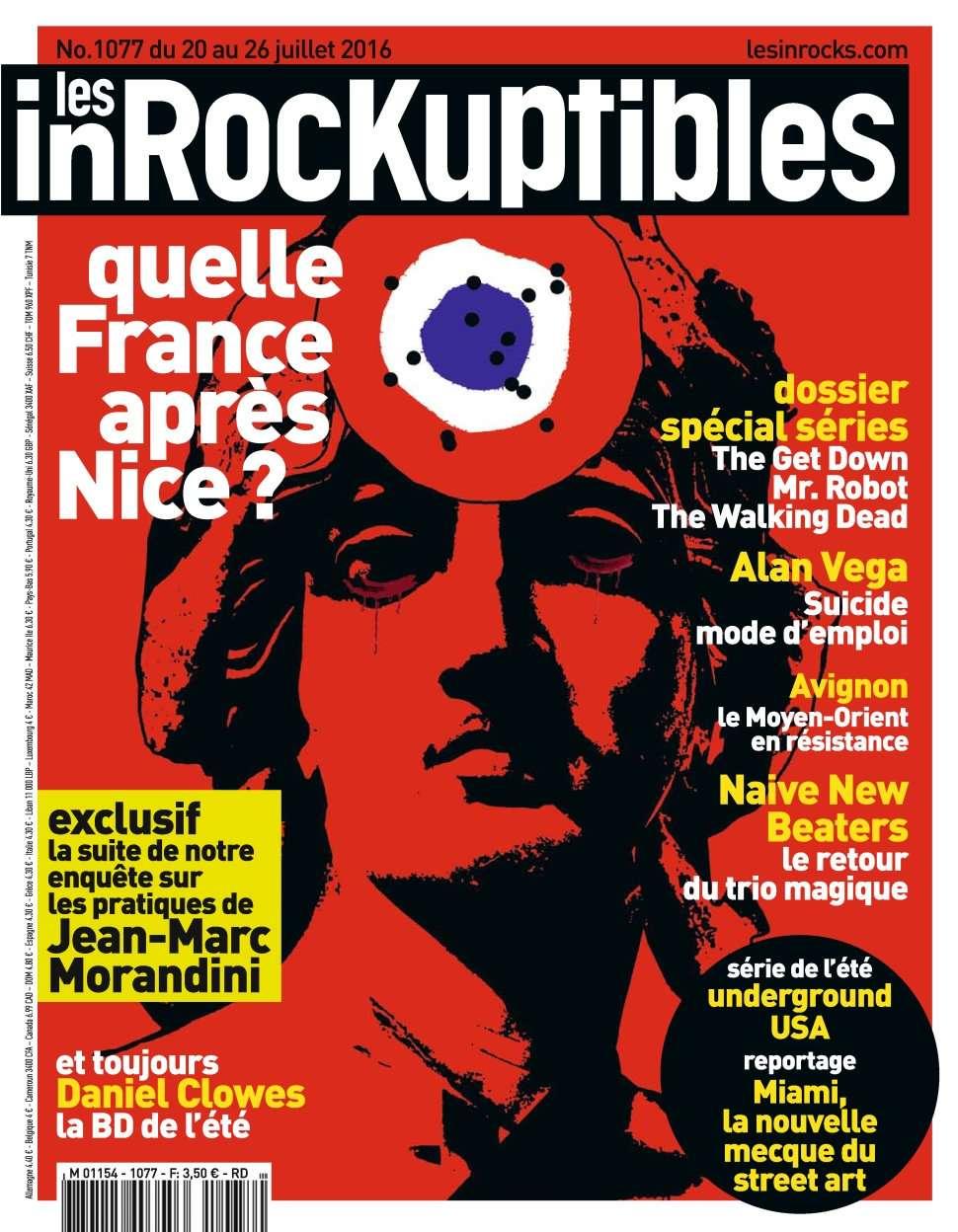 Les Inrockuptibles 1077 - 20 au 26 Juillet 2016