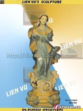 www.123nhanh.com: Tượng đức mẹ Maria