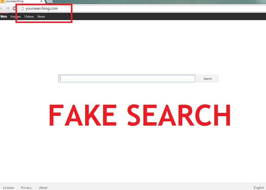 删除Yoursearching.com