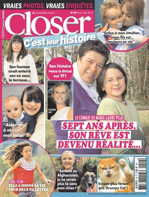 Closer Real Life 29 - Avril 2016
