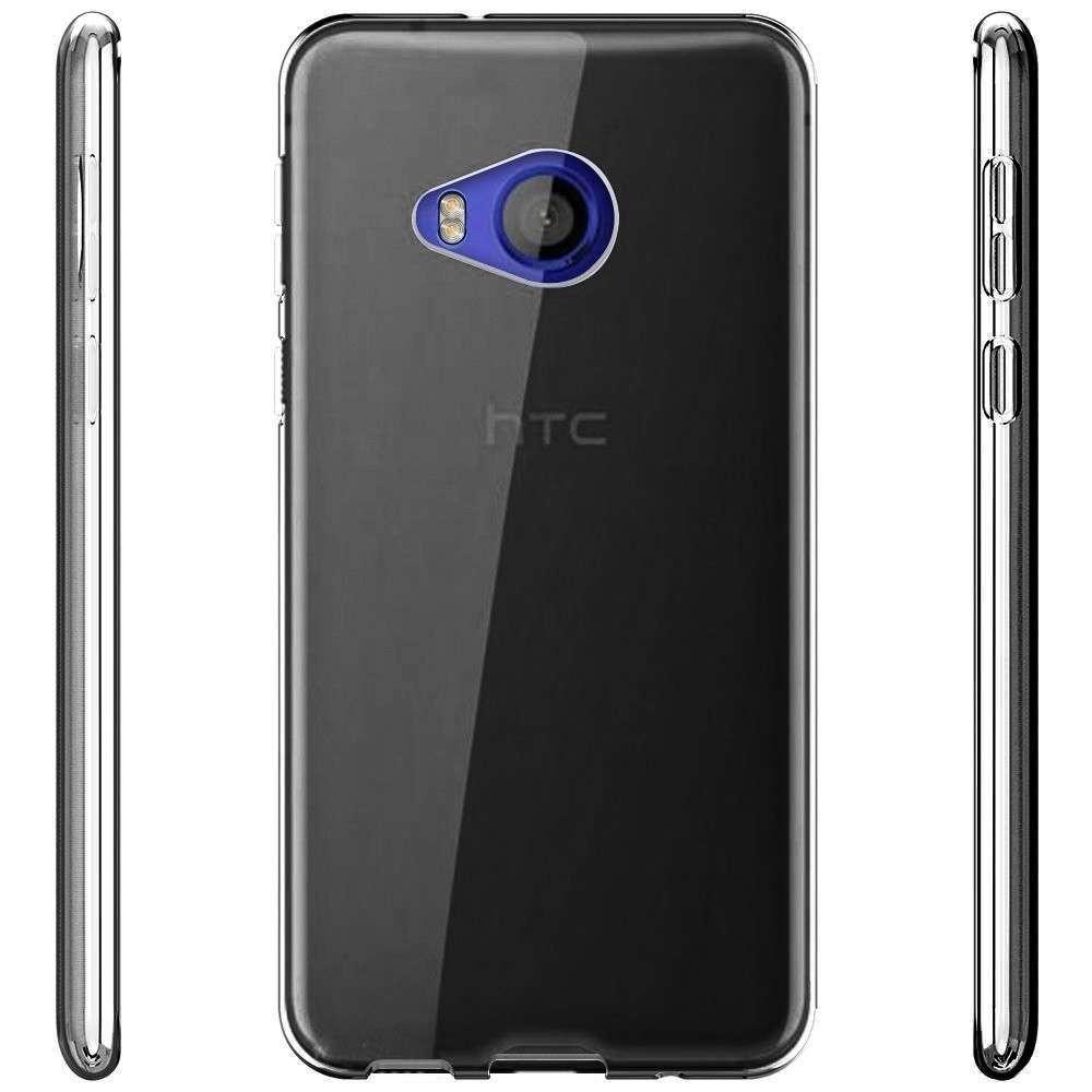 Coque-Etui-HTC-U11-Silicone-Ultra-Fine-legere-Housse miniature 5