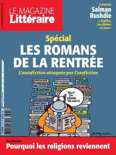 Le Magazine Littéraire 571 - Septembre 2016