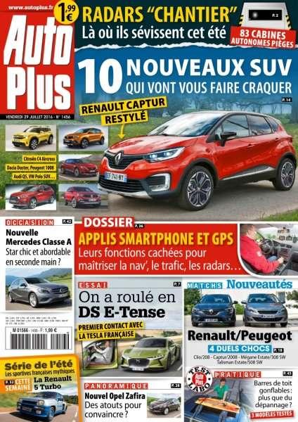 Auto Plus 1456 - 29 Juillet au 4 Août 2016