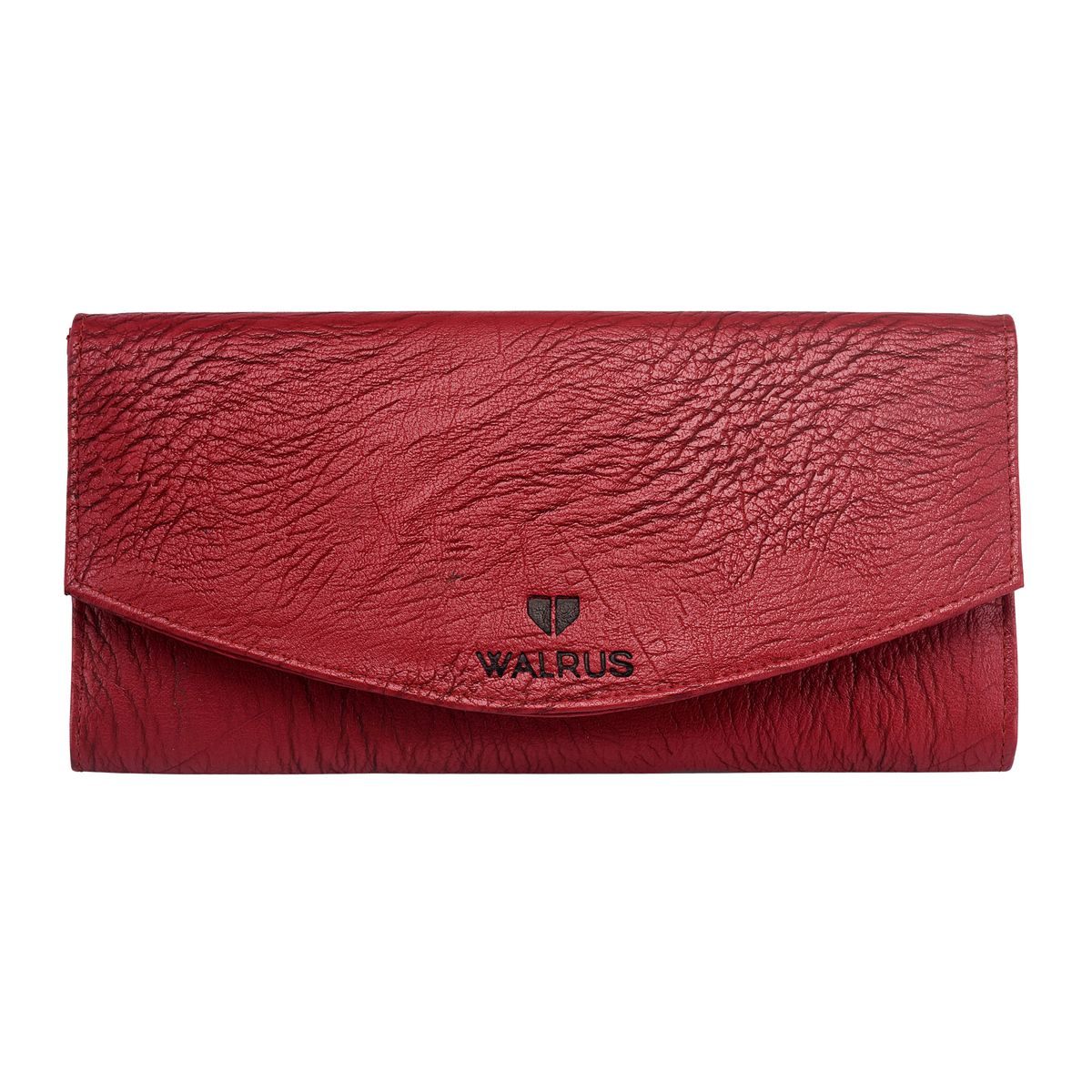 Walrus Chloe Red Color Women Hand Clutch