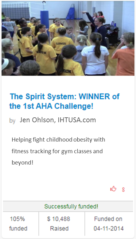 Jen Ohlson and the IHT Spirit Campaign