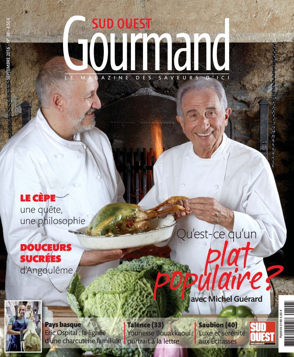 Sud Ouest Gourmand 30 - Septembre 2016