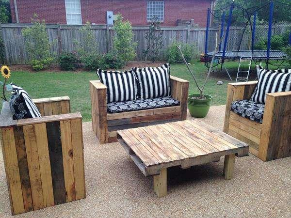 DIY Pallet Patio Furniture Ideas