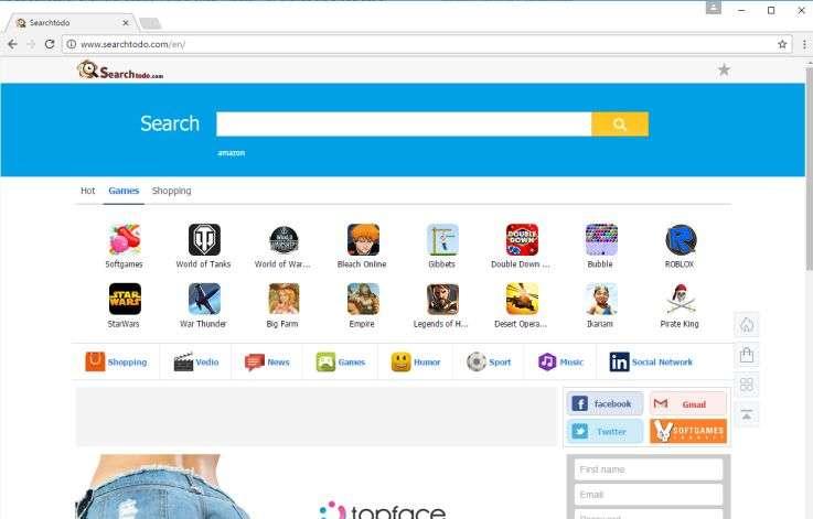 Remove Searchtodo.com