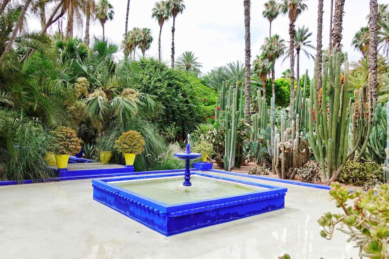 Jardin Marjorelle Marrakech