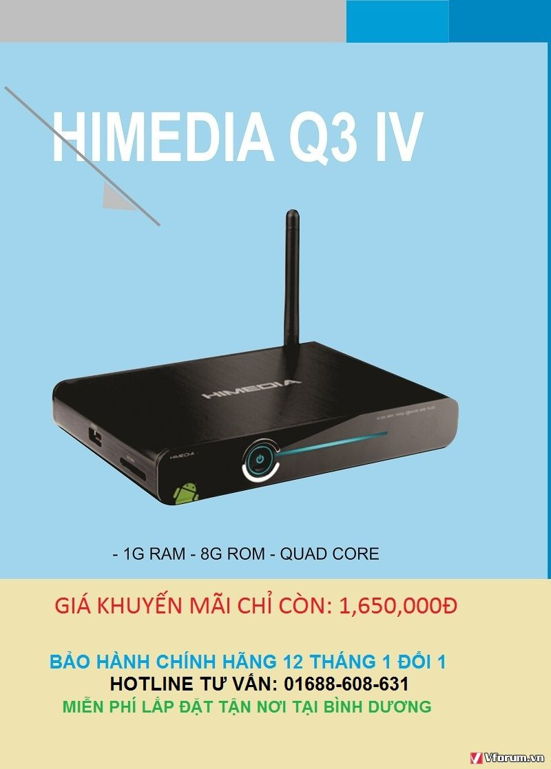 Khuyến mãi khi mua ti vi box tặng ngay USB 8GB - 164731