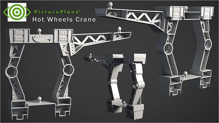 Hot Wheels Crane