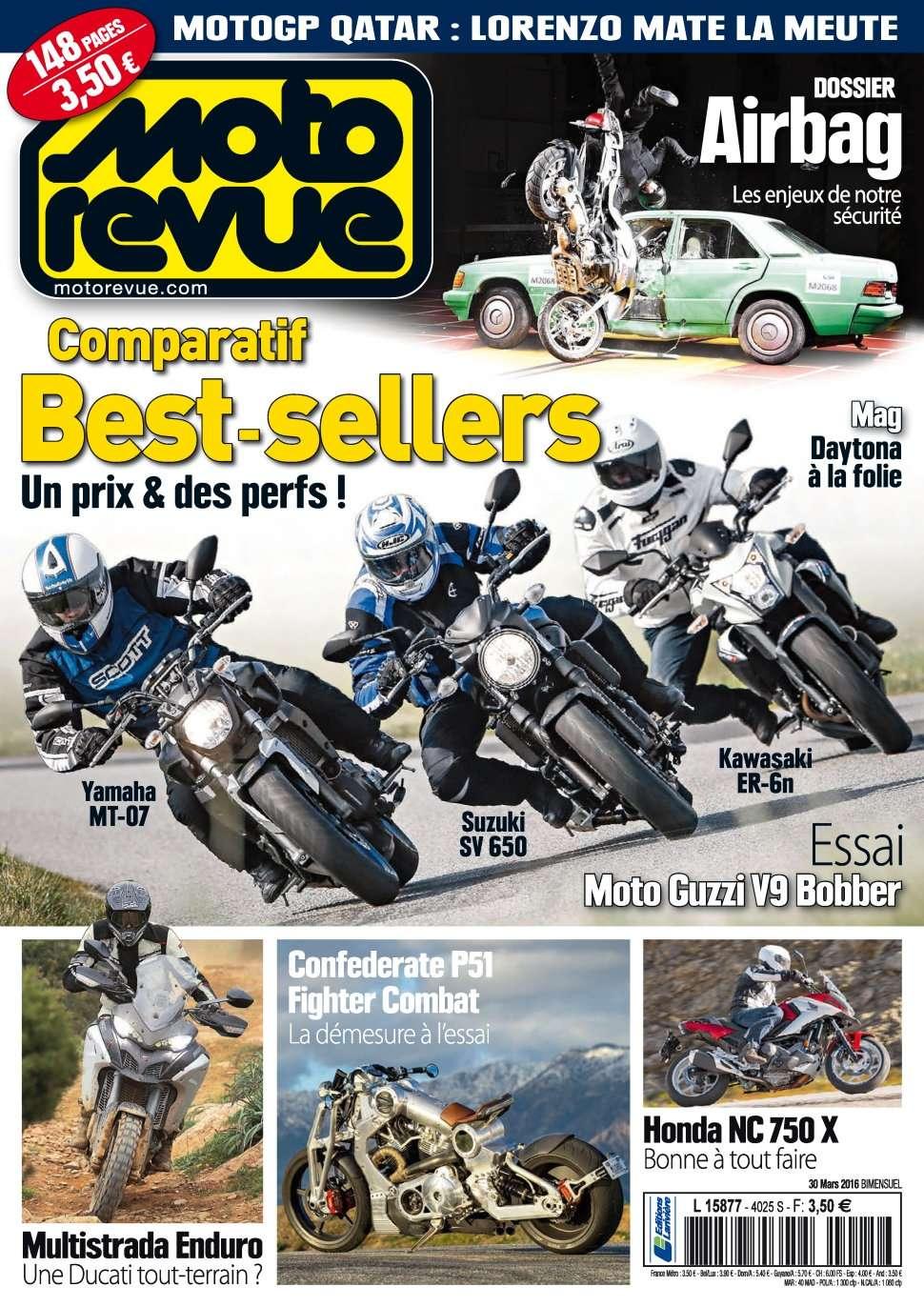 Moto Revue 4025 - 30 Mars 2016