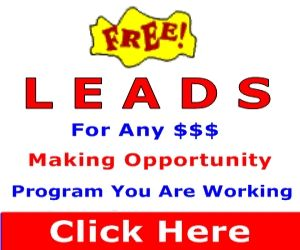 Free Leads For Any Money Making Opportunity
