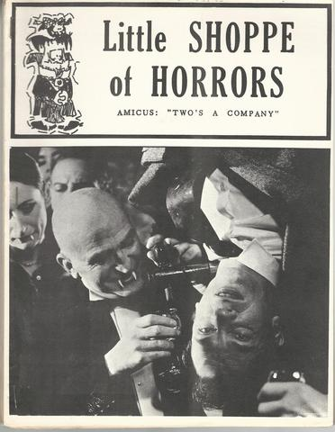Little Shoppe of Horrors Magazine #2, Gary Dorst