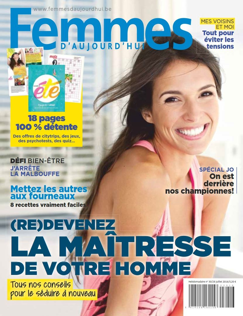 Femmes d'Aujourd'hui 4299 - 28 Juillet 2016