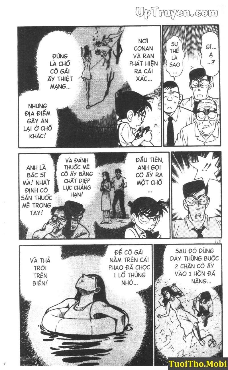 đọc truyện Conan bộ đặc biệt chap 6 trang 15