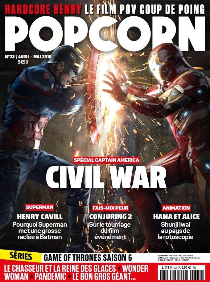 Popcorn 22 - Avril-Mai 2016