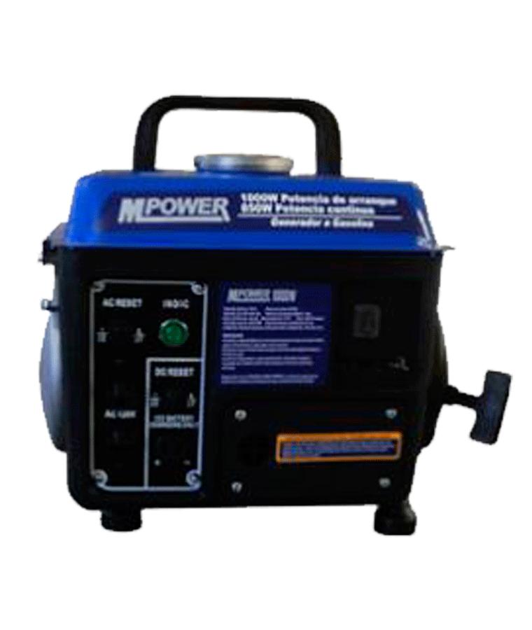 Generador Gasolina Mpower 1000w Arranque Manual