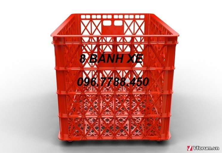 www.123nhanh.com: Sóng nhựa 8 bánh xe, sóng nhựa chữ nhật 0967788450