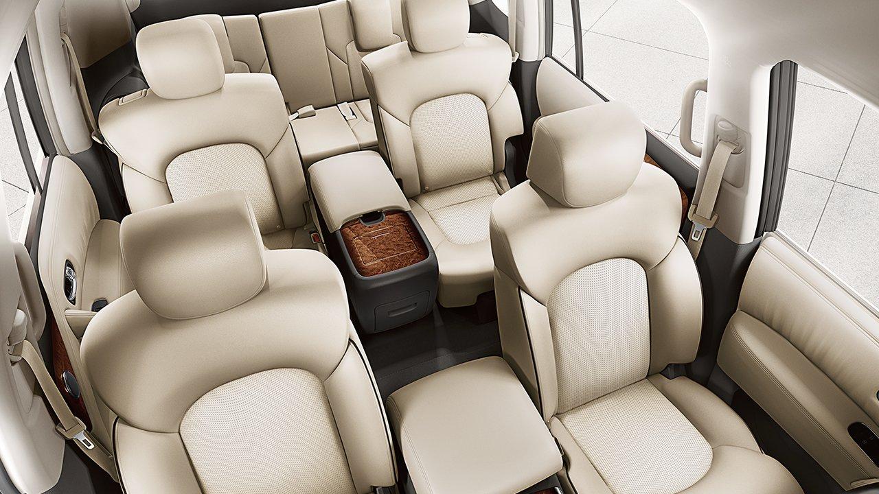 2017 Nissan Armada Interior Third Row Seating