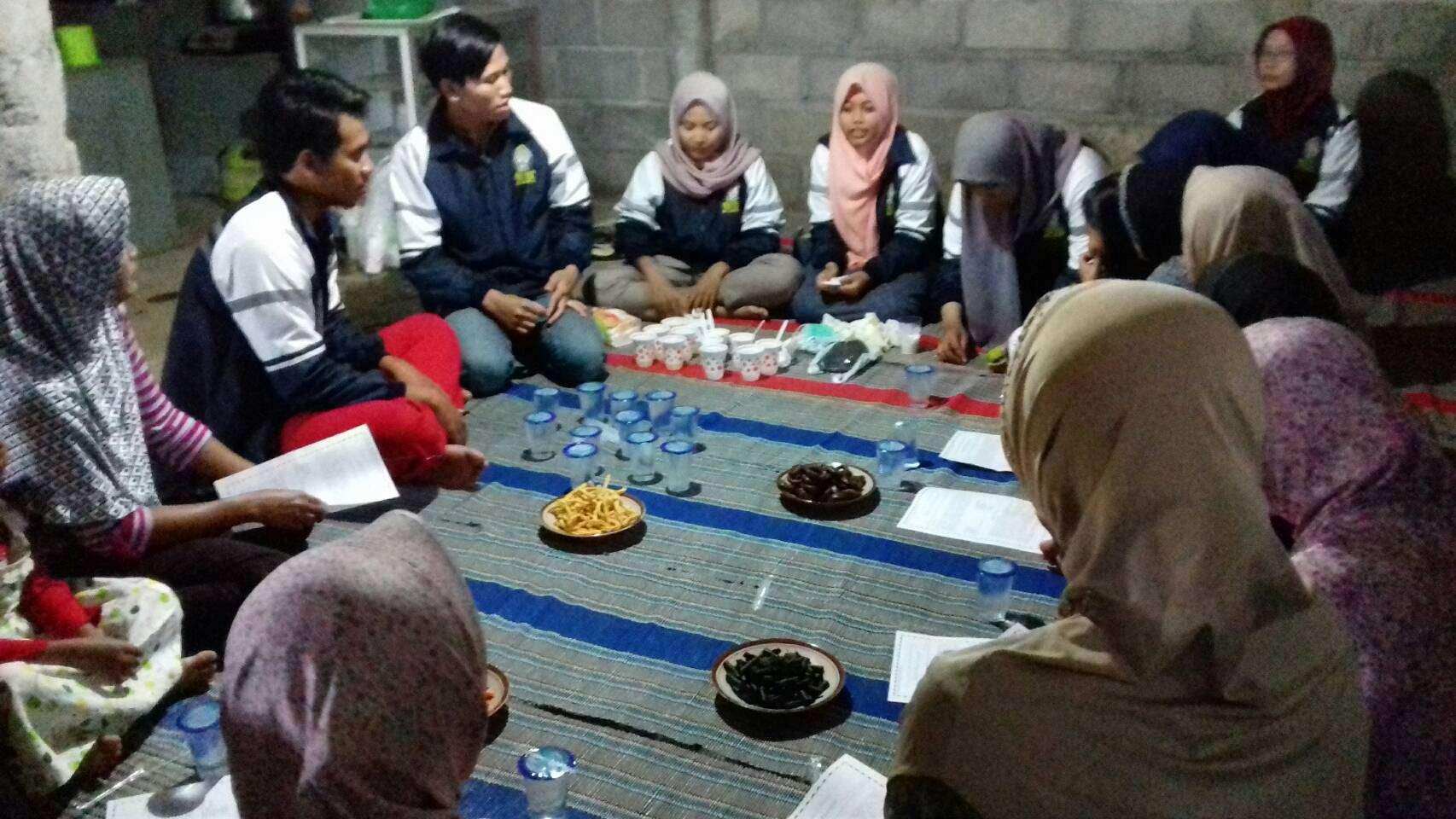 Penyampaian ke Kelompok Wanita Tani