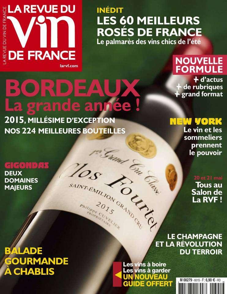 La Revue du Vin de France - Mai 2016