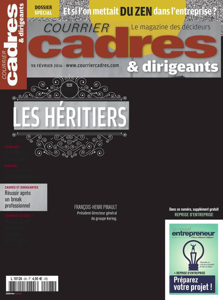 Courrier Cadres & Dirigeants - Février 2016