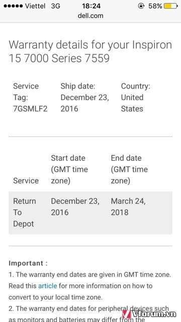 Cần Bán: Dell Inspiron 15 7000 series 7559 New 100%, Nguyên Seal USA - 1