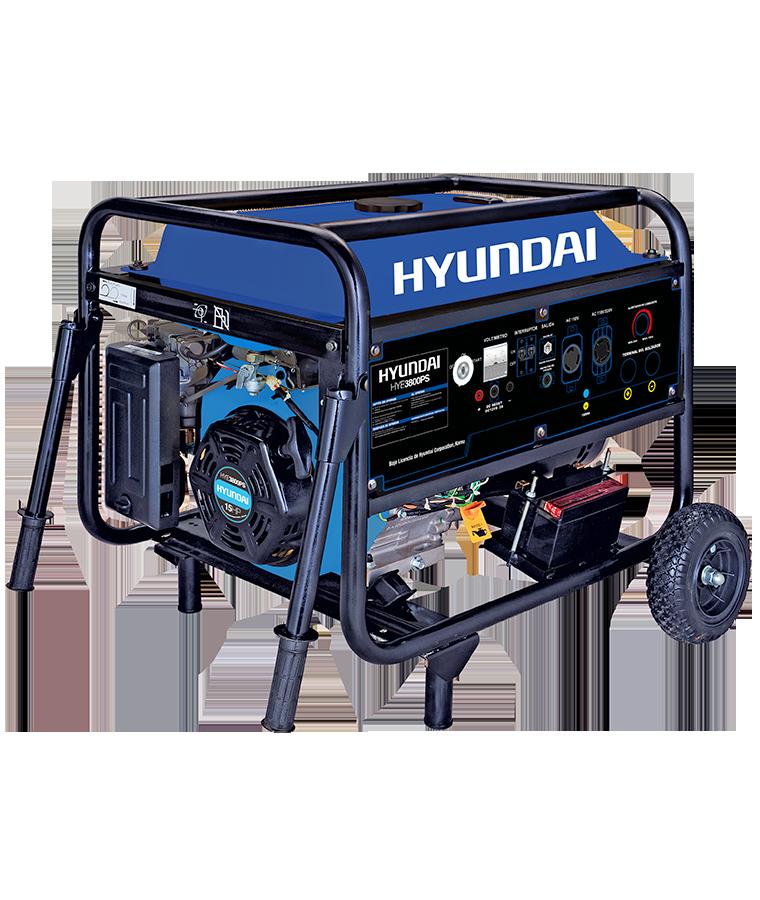 Soldadora Generador Hyundai Trifásico con Motor a Gasolina