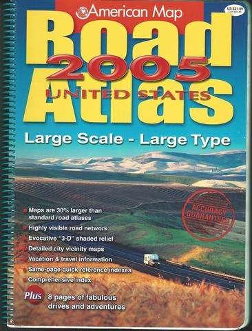 U.S. Road Atlas (United States Road Atlas), American Map Corporation