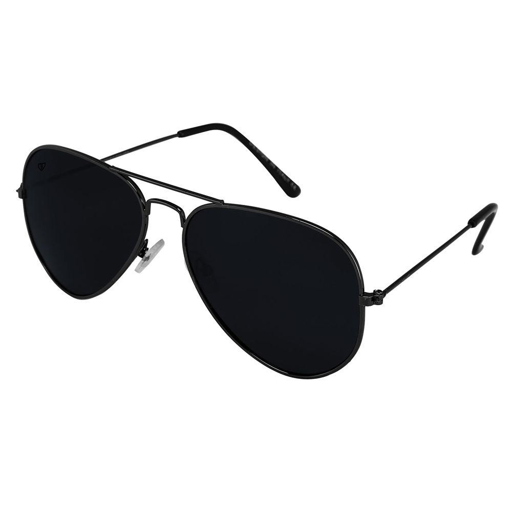 Walrus Aristrocrat Black Color Unisex Aviator Sunglass- WS-AST-020202