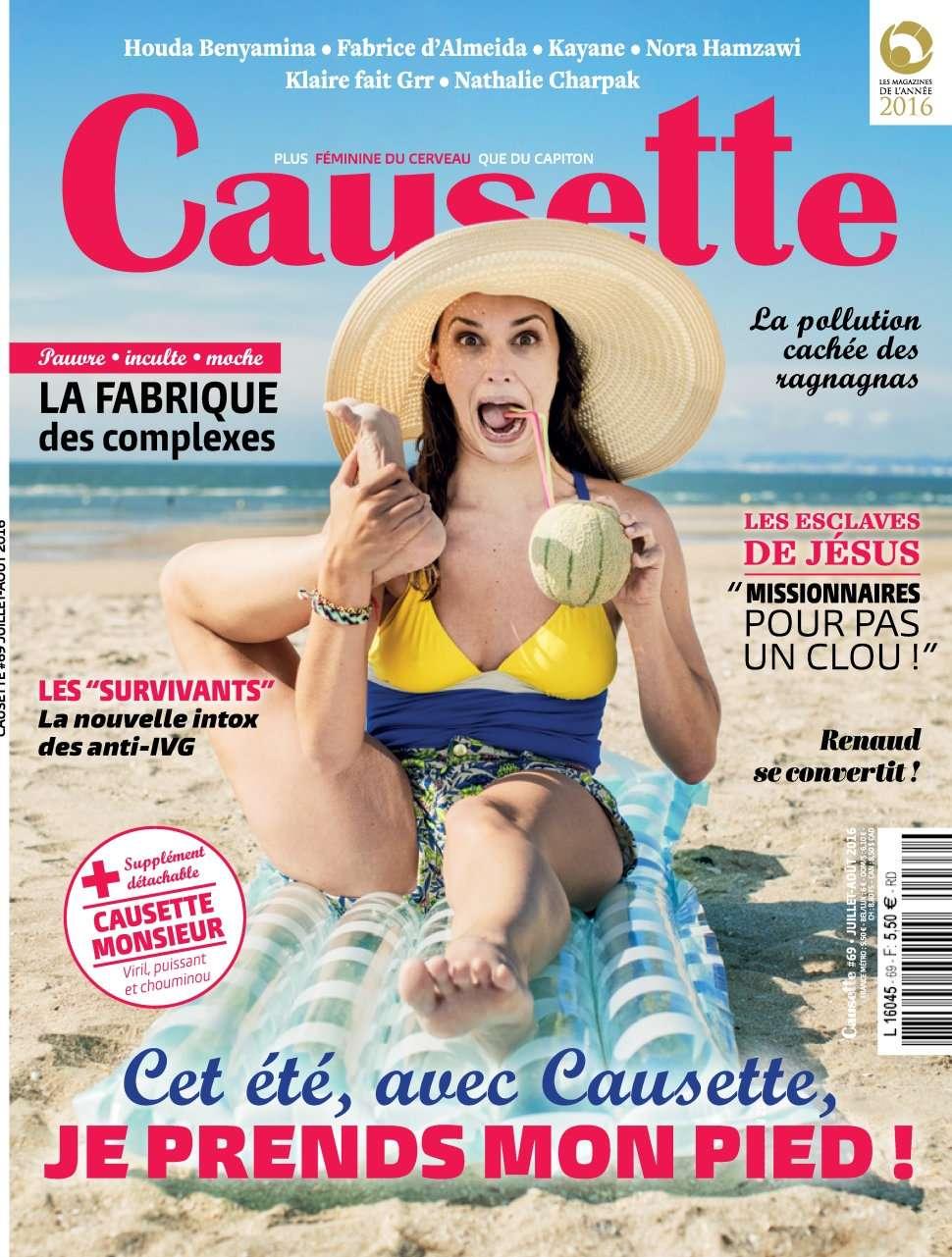Causette 69 - Juillet/Aout 2016