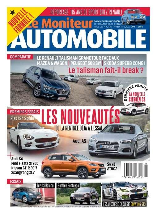 Le Moniteur Automobile 1631 - 6 Juillet 2016