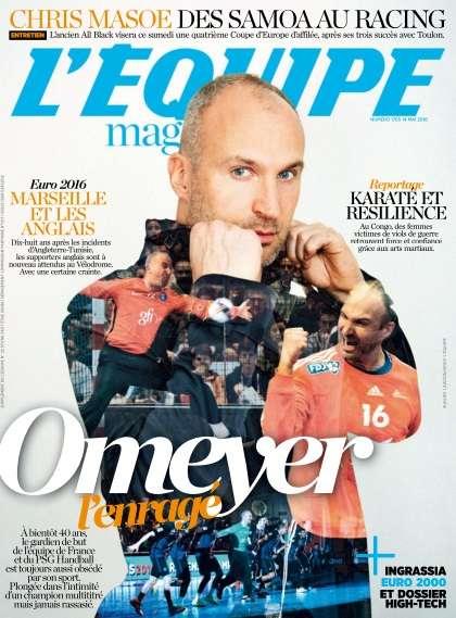 L'Equipe Magazine - 14 Mai 2016