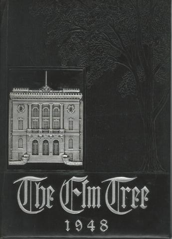 The Elm Tree Classbook of 1948 Yearbook New Haven Highschool CT, Bette Ann Curtin