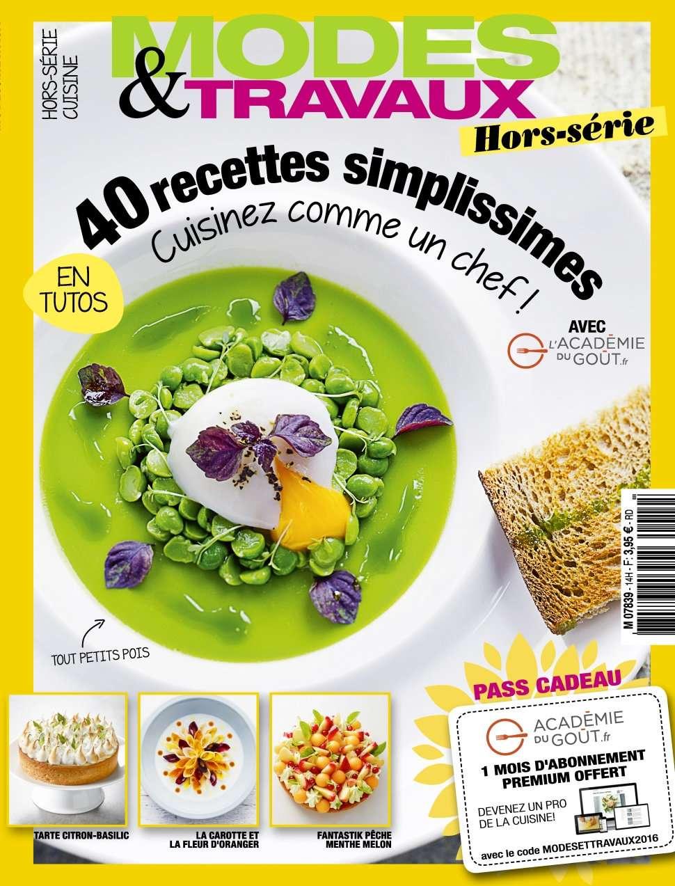 Modes & Travaux Hors-Série 14 - Cuisine Ete 2016