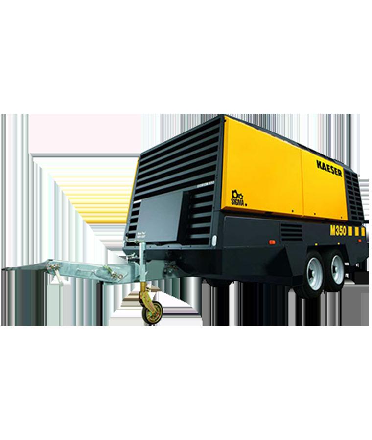 Compresor de aire Kaeser 210 CFM Renta Por día