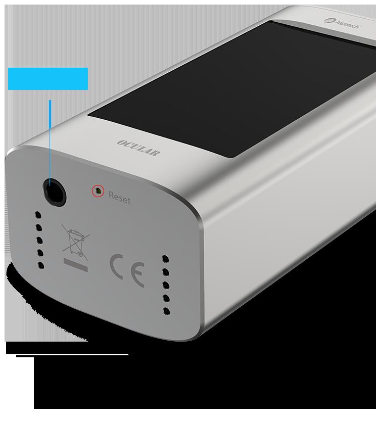 Joyetech OCULAR Battery Mod: 5000mAh high-capacity for long-lasting power_vaporl.com