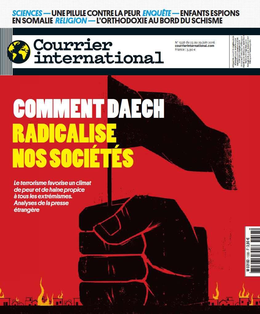 Courrier International 1338 - 23 au 29 juin 2016