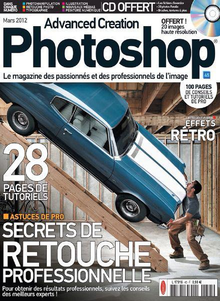 Advanced Creation Photoshop Magazine 45
