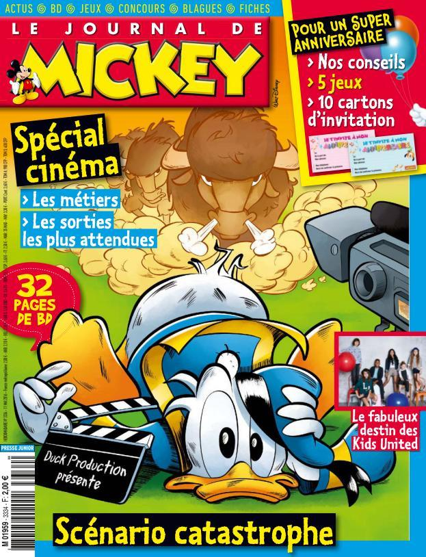 Le Journal de Mickey 3334 - 11 au 17 Mai 2016