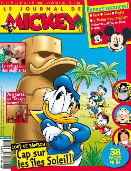 Le Journal de Mickey 3345 - 27 Juillet 2016