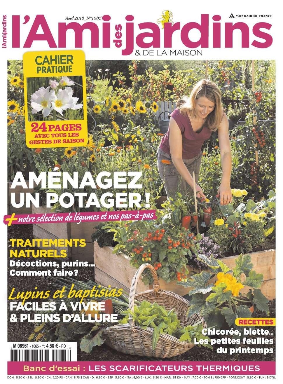 L'Ami des Jardins 1065 - Avril 2016
